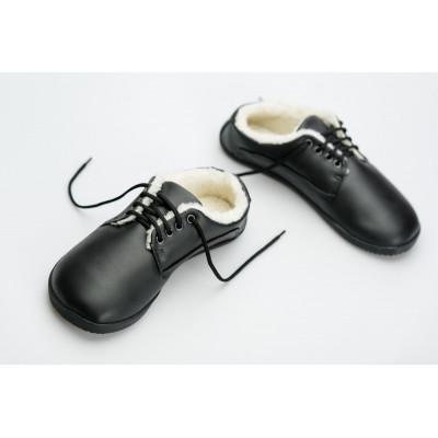 Čevlji Bare Sundara zimski črni