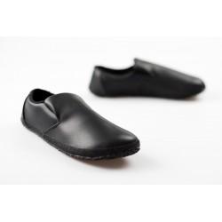 Čevlji Bare Sundara natikači priložnostni črni