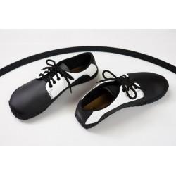 Čevlji Bare Sundara priložnostni črno-beli