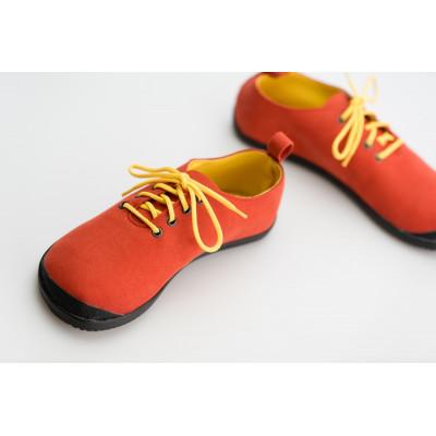 Čevlji Bare Gopi rdeči