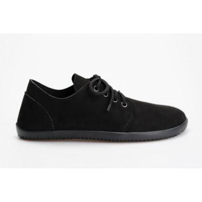 Čevlji Bare Bindu-2 semiš črni
