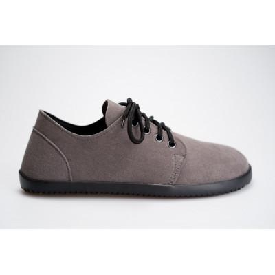 Čevlji Bare Bindu-2 semiš sivi
