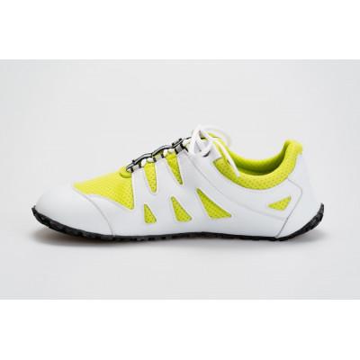 Čevlji Bare Chitra športni belo-rumeni