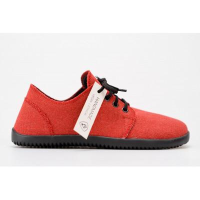 Čevlji Bare Bindu-2 Sunbrella® Recycled rdeči