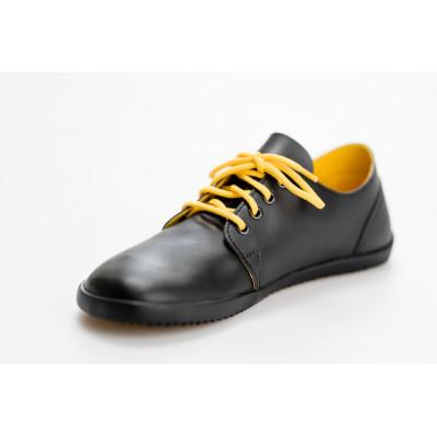 Čevlji Bare Bindu-2 črno-rumeni