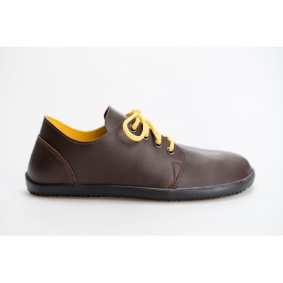 Čevlji Bare Bindu-2 rjavo-rumeni