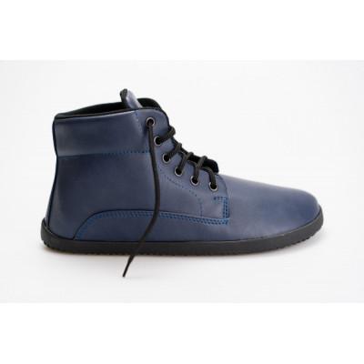 Čevlji Bare Sundara gležnarji z membrano modri