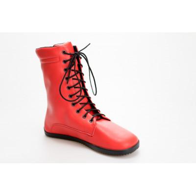 Čevlji Bare Jaya škornji rdeči