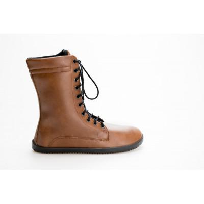 Čevlji Bare Jaya škornji svetlo rjavi