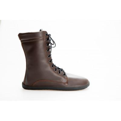 Čevlji Bare Jaya škornji rjavi