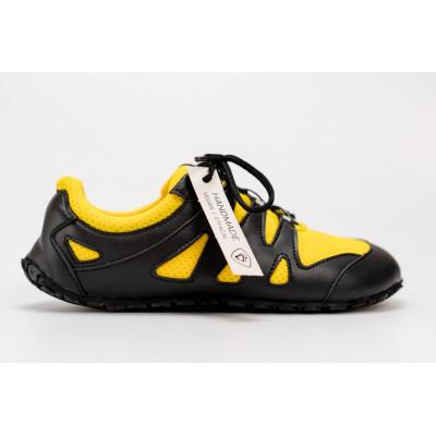 Čevlji Bare Chitra športni rumeno-črni