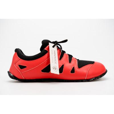 Čevlji Bare Chitra športni rdeče-črni