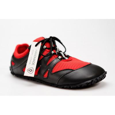 Čevlji Bare Chitra športni črno-rdeči