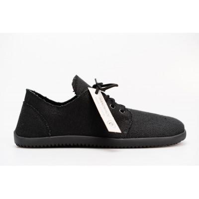 Čevlji Bare Bindu-2 konoplja črni