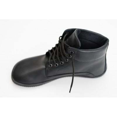 Čevlji Bare TREK gležnarji črni