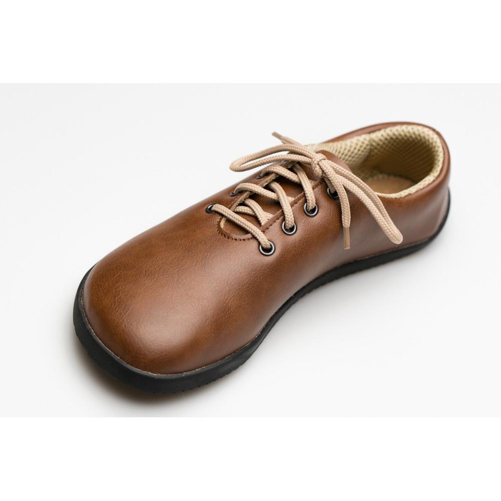 Čevlji Bare Ananda priložnostni svetlo rjavi