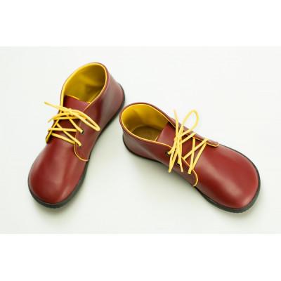 Čevlji Bare Bindu gležnarji rdeče-rumeni