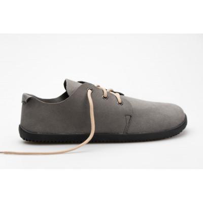 Čevlji Bare Bindu semiš sivi