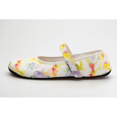 Čevlji Bare Ananda balerinke rožnate3