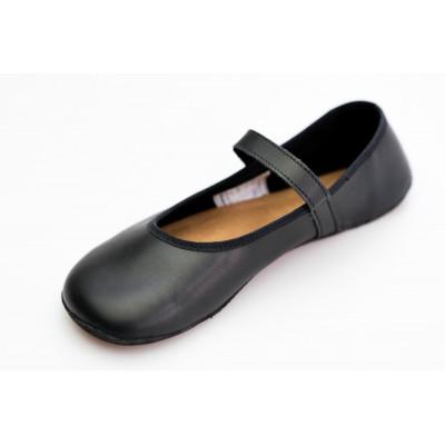 Čevlji Bare Ananda balerinke črne CF+