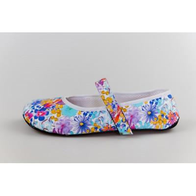Čevlji Bare Ananda balerinke rožnate
