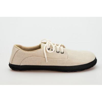 Čevlji Bare Sundara AirNet® lan natur